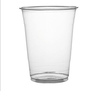 160z Plastic Pet cups Pack of 50